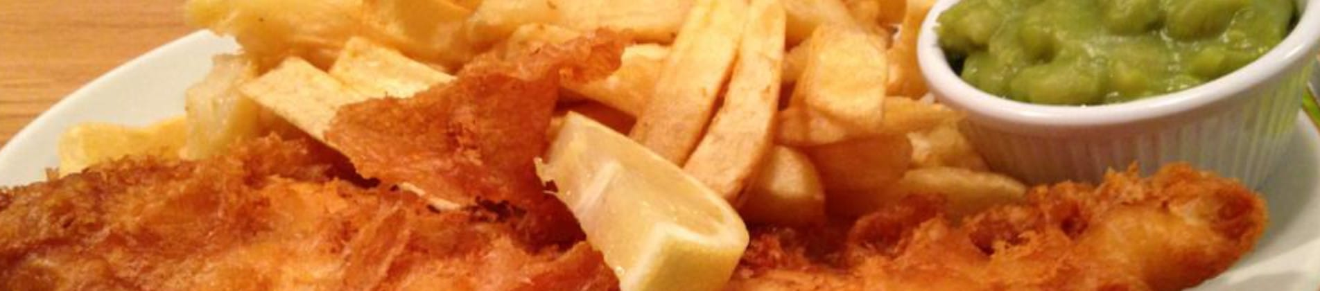 Fish and chips Redruth